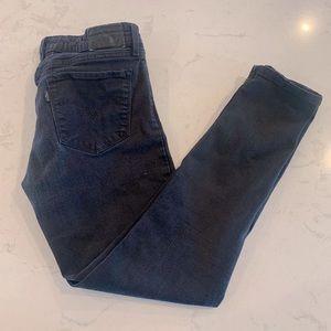 Levis black skinny jeans size 27